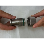 Gas tube coupling
