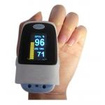 เครื่องวัดปริมาณออกซิเจนในเลือดและนับอัตราการเต้นของชีพจร