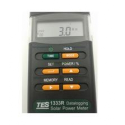 Interface Datalogging Solar Power Meter