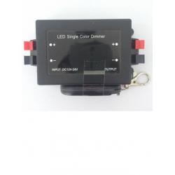 LED single color dimmer+รีโมท